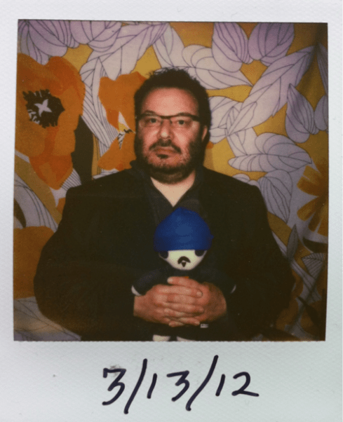 The Impossible Year | Jeffrey Zeldman with Mini-Zeldman Doll Polaroid...