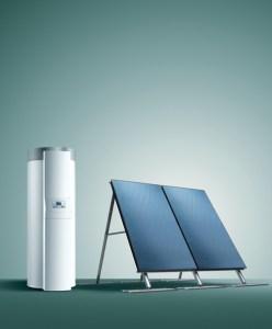 "Beztlakový solárny systém ""Drain-back"""
