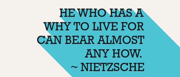 He who has a why to live for - Nietzsche in De Zin Van Het Bestaan Viktor Frankl