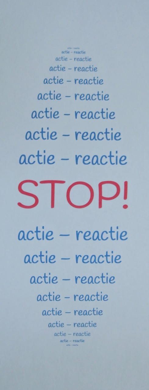 STOP-knop