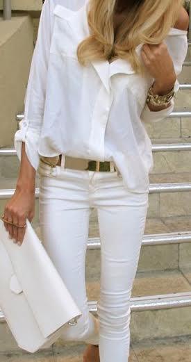 A jean blanc 2
