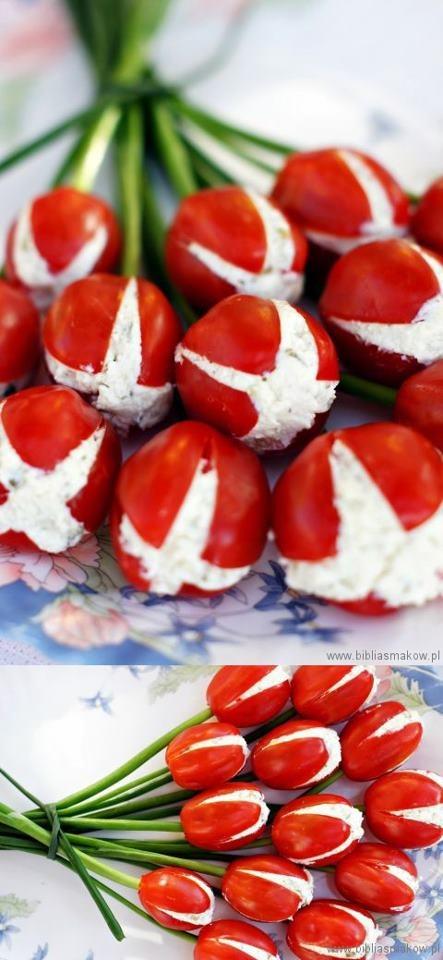 Tomates fleurs