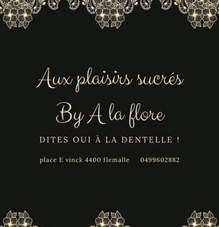 Aux plaisirs sucrés by A la Flore.