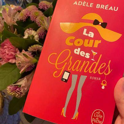 Livre | La cour des grandes | Adèle Bréau