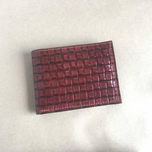 unikatna usnjena moška denarnica Zelolepo