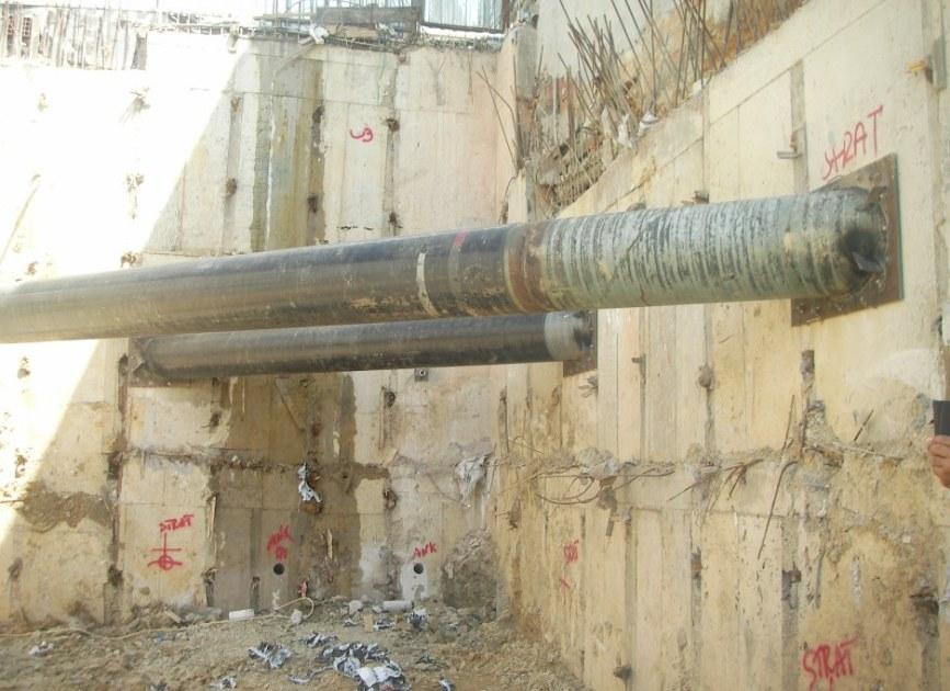 sıtrat çelik borulu destek strut borusu
