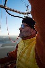 Richard, le pilote de la montgolfiere Zen Altitude