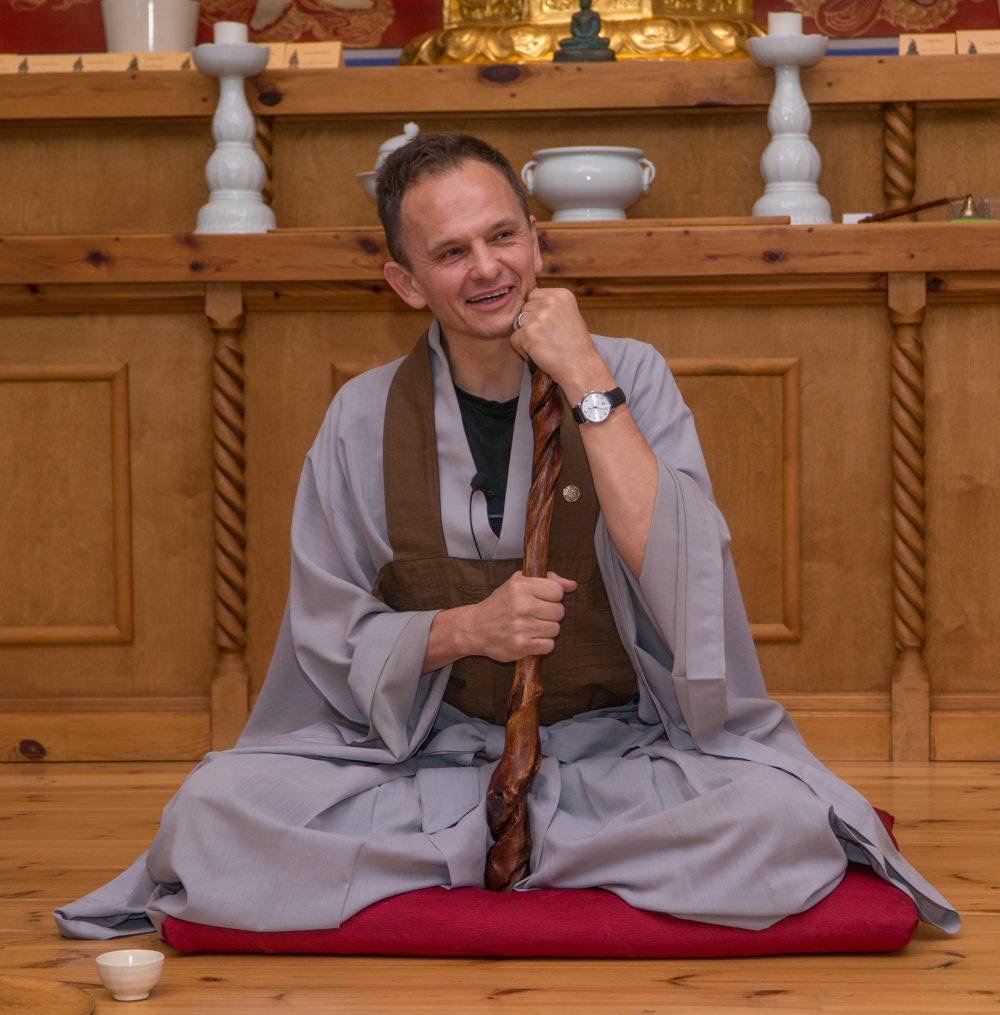 Joeng Hye SSN w Katowickim Ośrodku Zen