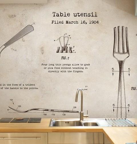Carta Da Parati Per Cucina 7 idee per usare la carta da parati in ...