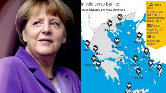 La Grecia saccheggiata dalla Germania