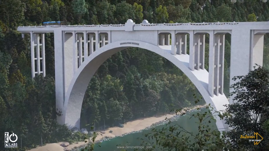 Coronation Bridge: Commemorate the coronation of King George VI and Queen Elizabeth in 1937 and was completed in 1941