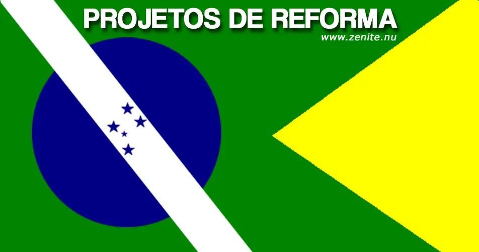 Bandeira do Brasil: projetos de reforma