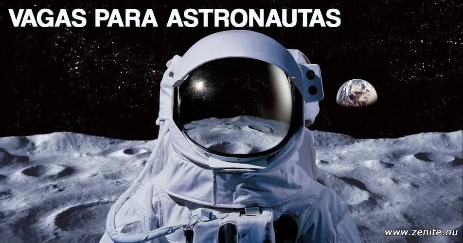 Vagas para astronautas