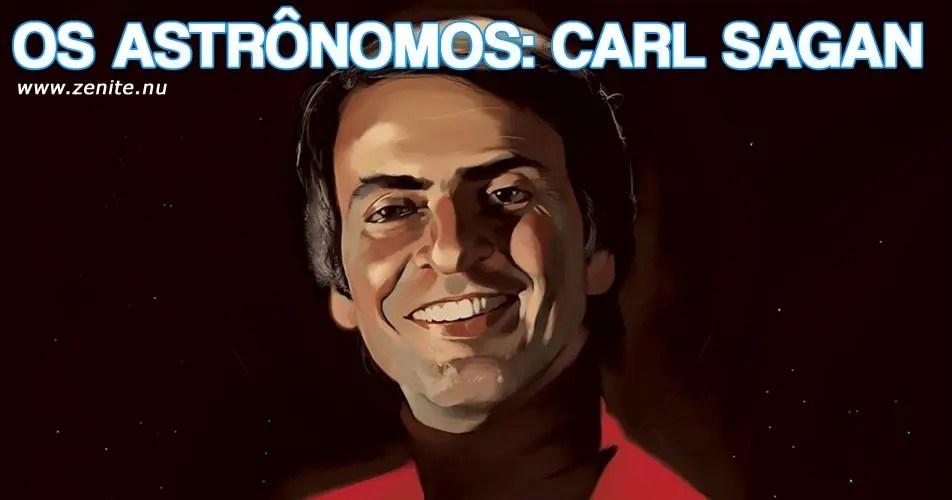 Os astrônomos: Carl Sagan