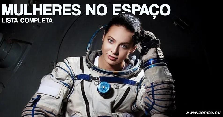 Lista de mulheres no espaço