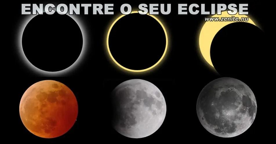 Encontre o seu eclipse