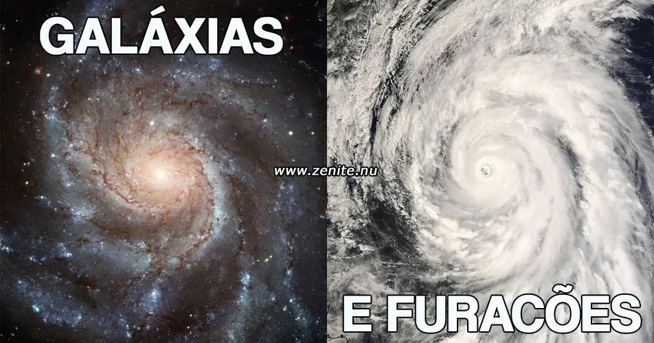 Galáxias e furacões