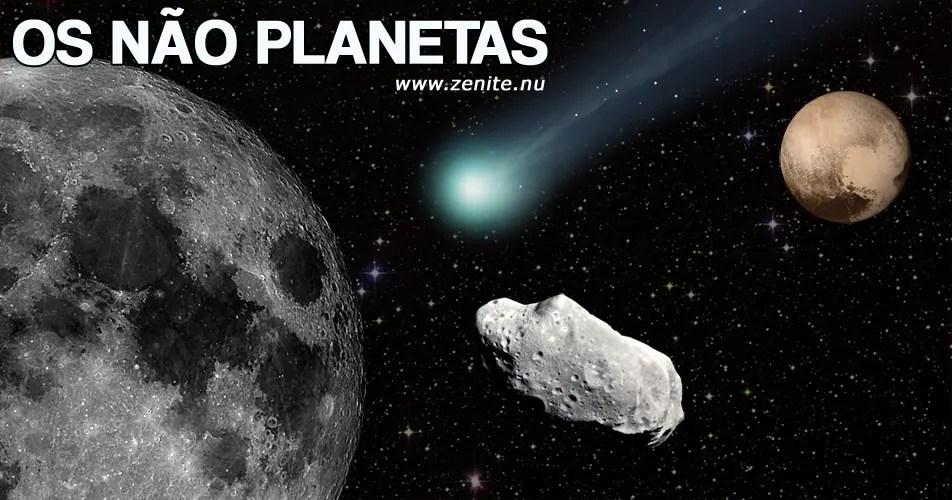 Os não planetas