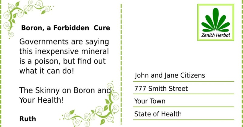 Have You Heard About Boron?