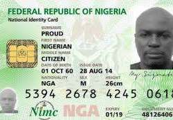 Nigeria national identity card by mimc