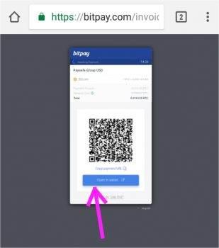 Bitpay bitcoin