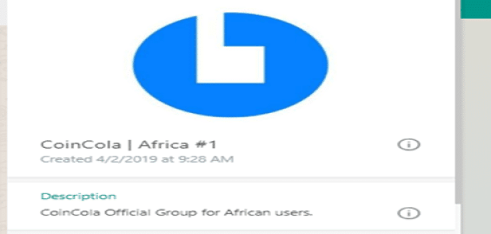 Coincola Nigeria sell gift card