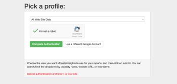 Google Analytics in WordPress