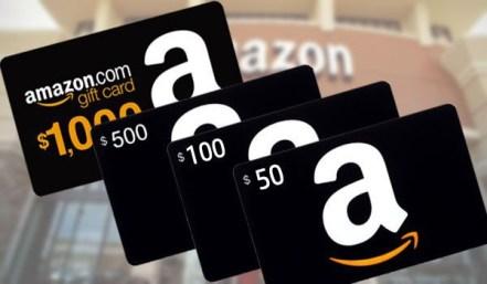 Earn Amazon gift card