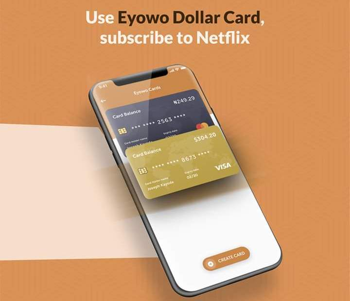 Create Virtual Prepaid Credit Card with Eyowo Payment Gateway