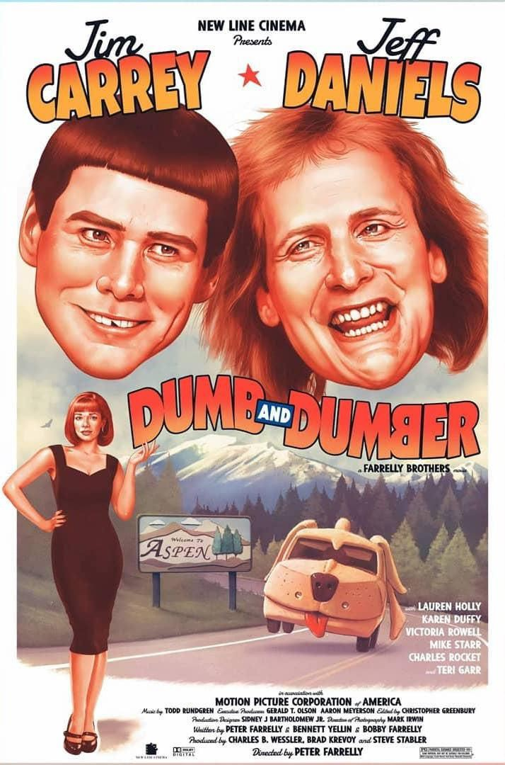 Dumb and Dumber (1994) 90's Comedy Movies