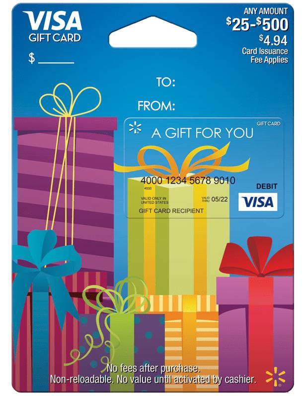 Buy Visa Gift Card from Walmart