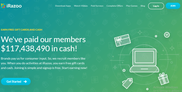 IRAZOO to earn money online