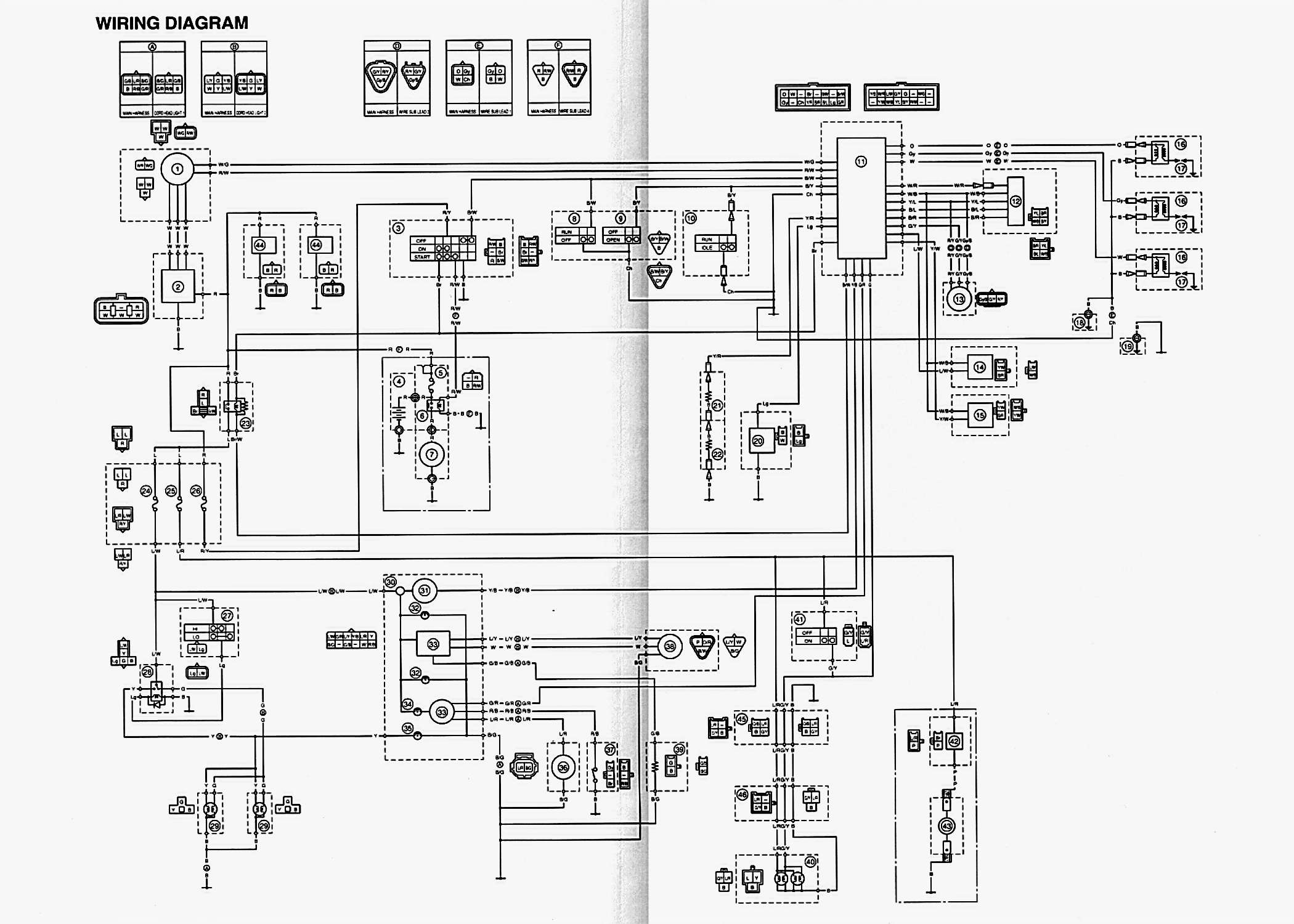 Yamaha 700 Wiring Diagram