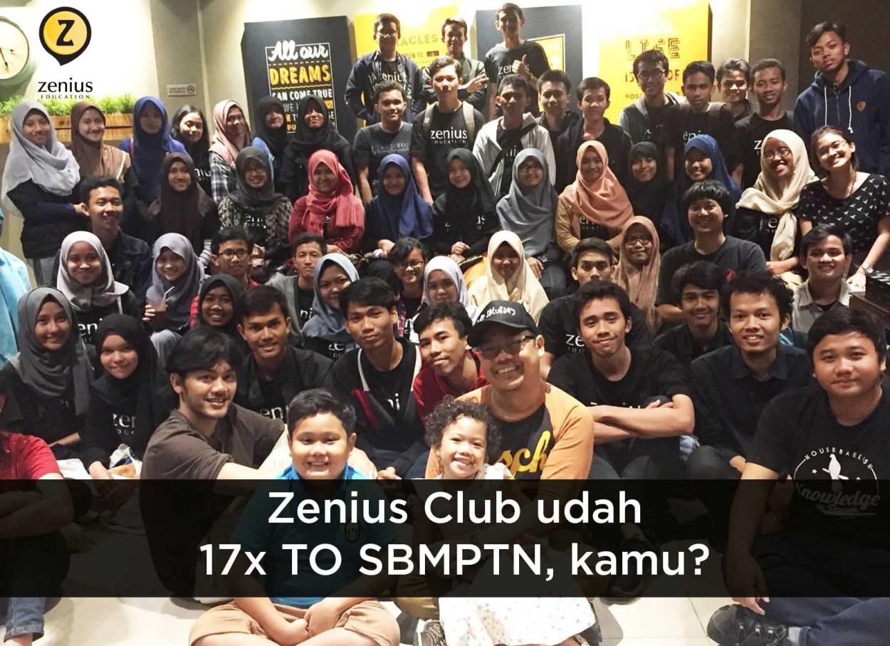 Anak Zenius Club udah 17x Try Out SBMPTN lho, kamu gimana? 33