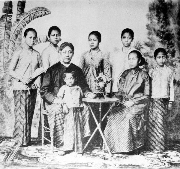 RA Kartini dan keluarganya