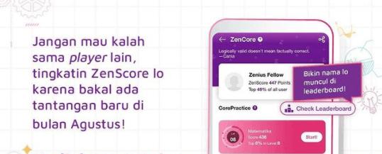 Leaderboard ZenCore