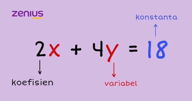 Unsur persamaan linear dua variabel