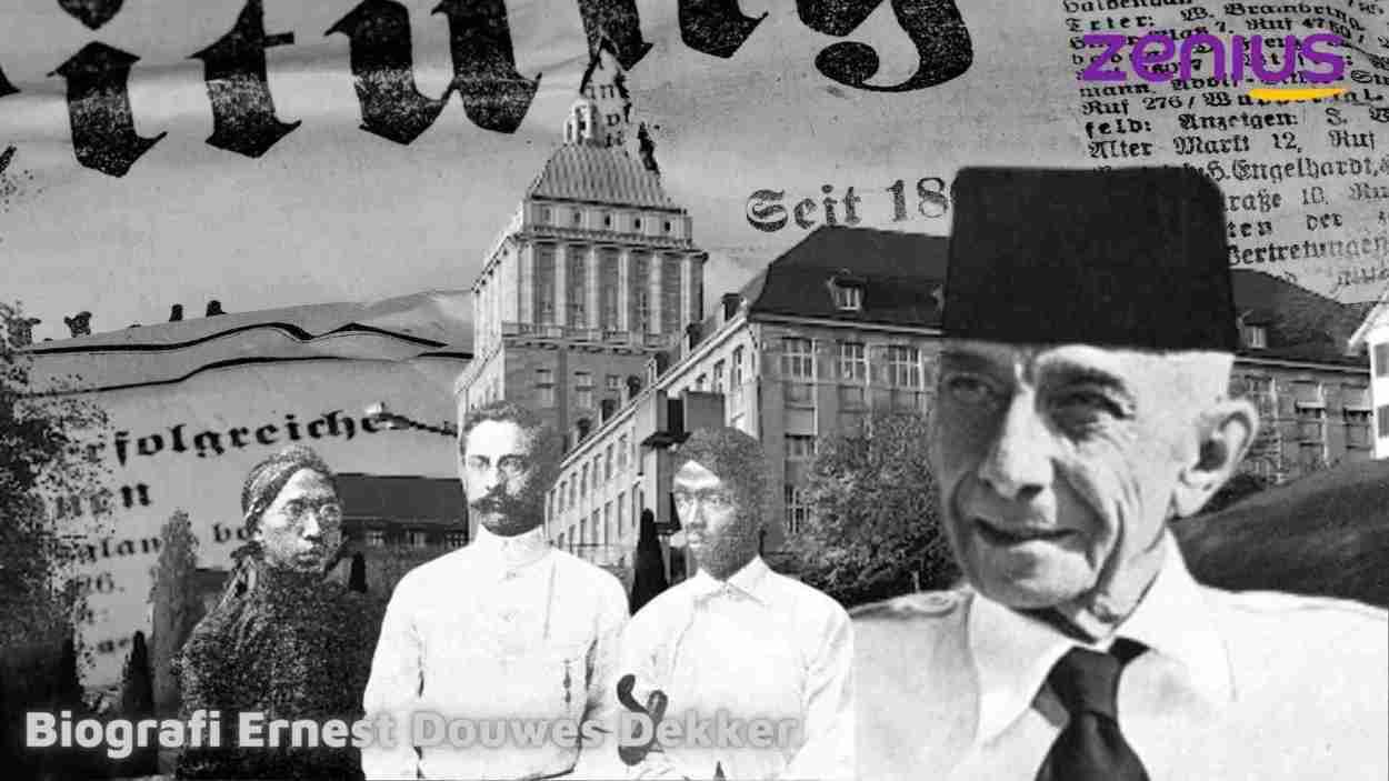 Biografi Ernest Douwes Dekker oleh Zenius
