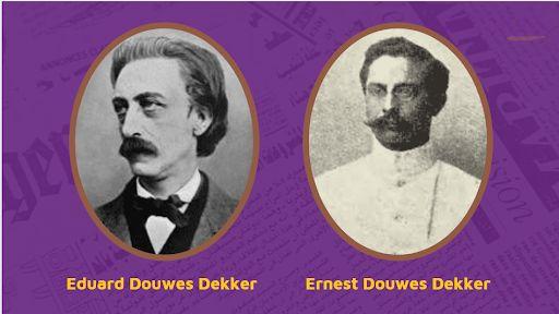 Eduard Douwes Dekker dan Ernest Douwes Dekker