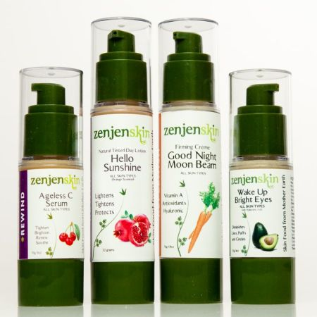 Plant based skincare package