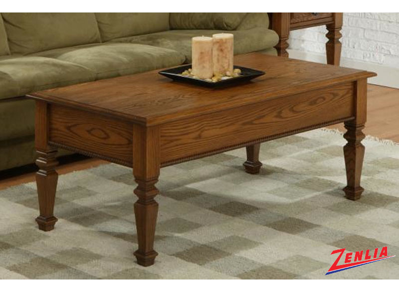 Florent 48 Wide Legged Lift Top Coffee Table Coffee