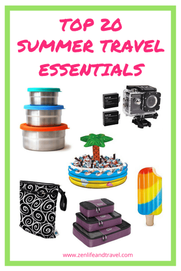 Top 20 Summer Travel Essentials. Everything you need to bring on your summer vacation.