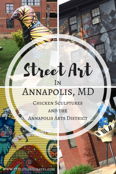 Street Art In Annapolis, MD - Chicken Sculptures and the Annapolis Arts District | USA Travel