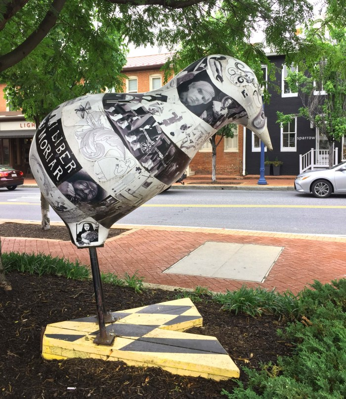 Street Art In Annapolis, MD (USA) | Annapolis Chickens