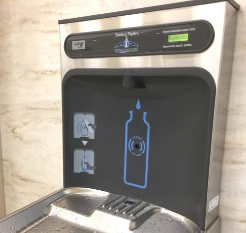 Money Saving Tips For Family Travel | Budget Family Travel | Water Bottle Filling Station