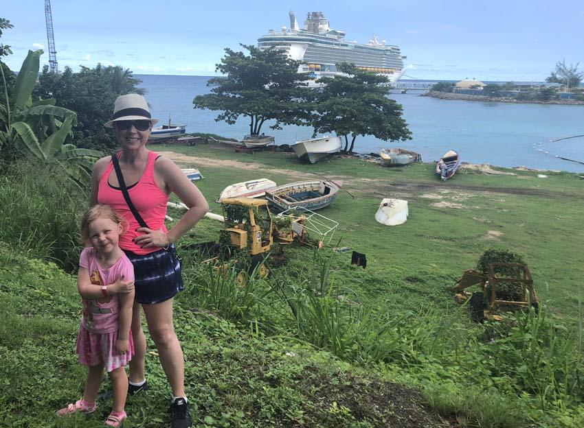 Royal Caribbean Freedom of the Seas Review   Freedom of the Seas in Ocho Rios Jamaica