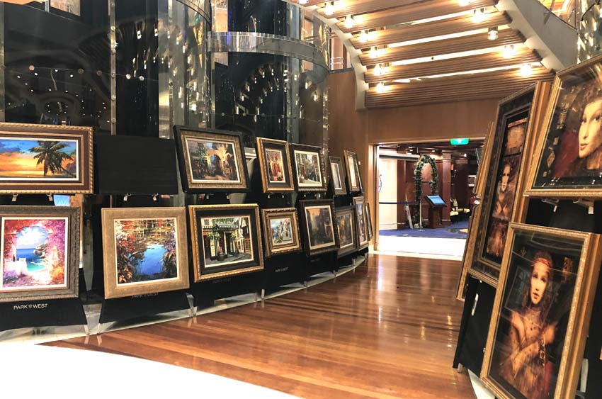 Cruise Ship Art Auctions   Park West Gallery   Art Auctions on Royal Caribbean   What To Do On A Cruise Ship   Cruise Vacation Tips   How To Navigate A Cruise Ship Art Auction   #cruiseshipartauction #parkwestgallery #cruising #royalcaribbean