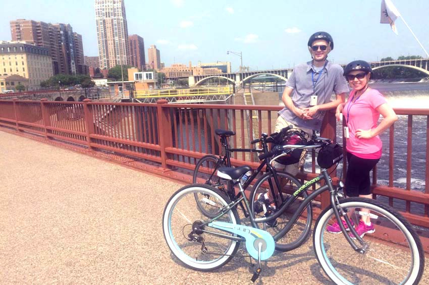 How To Stay Healthy While Traveling   7 Tips For Healthy Travel   How To Stay Healthy on Vacation   6 Habits For a Healthy Vacation   Minneapolis Bike Tour
