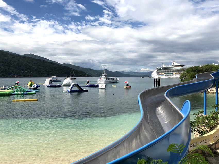 Royal Caribbean's private beach in Labadee, Haiti   Columbus Cove Water Park   Royal Caribbean Freedom of the Seas   Caribbean Travel