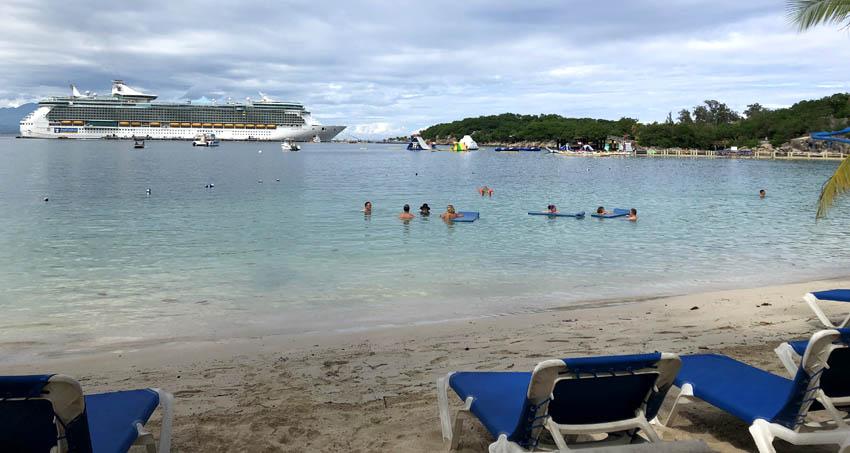 Royal Caribbean's private beach in Labadee, Haiti   Columbus Cove   Royal Caribbean Freedom of the Seas   Caribbean Travel